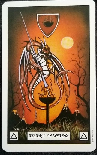 Weekly Reading - Knight of Wands