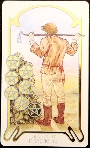 Weekly Reading - Seven of Pentacles