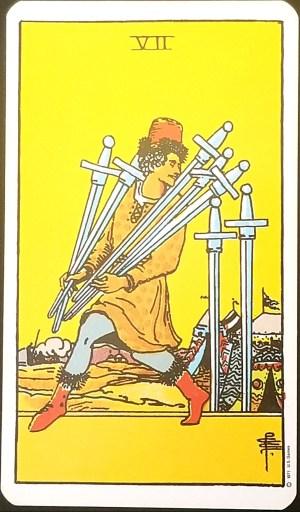 Weekly Reading - Seven of Swords