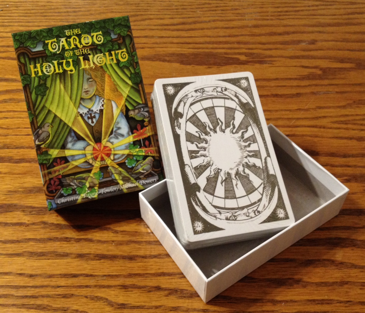 Review Of Tarot Of The Holy Light Benebell Wen