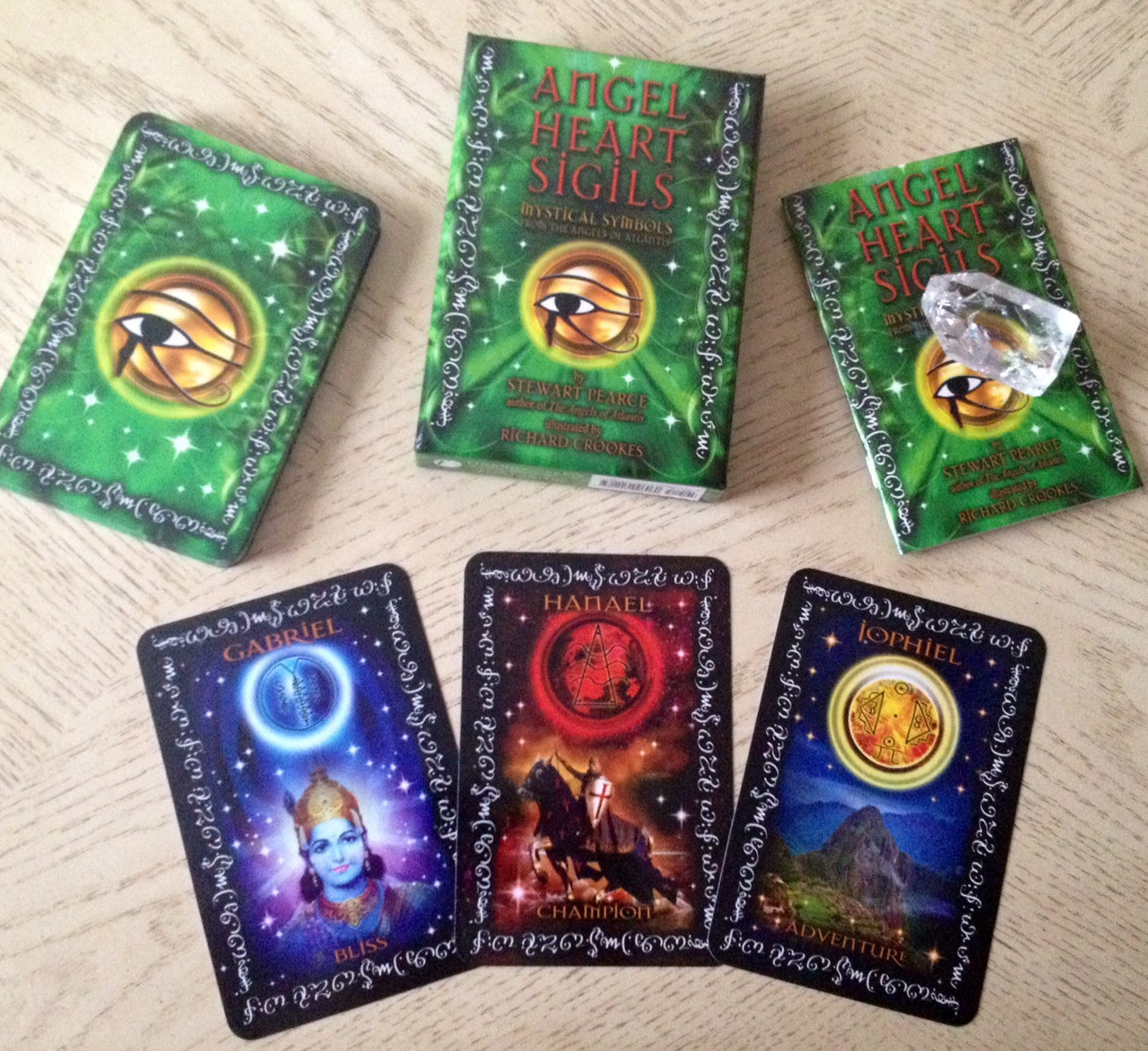 Angel Heart Sigils Mystical Symbols Oracle Cards A Review