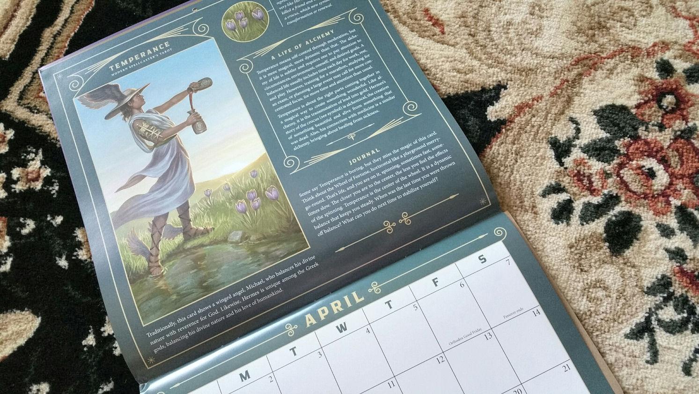 Llewellyn S Tarot Calendar Benebell Wen
