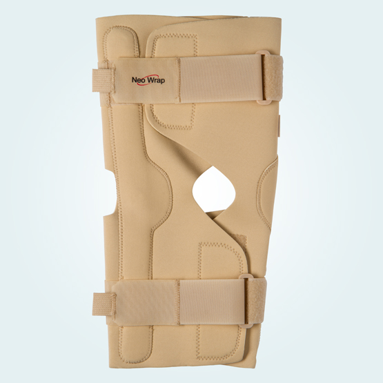 Benecare Neo wrap knee brace in beige