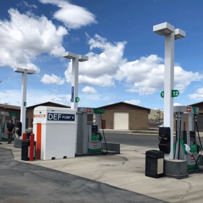 DEF Installation 750 Gallon Mini-Bulk Fleet Standard-Duty Series Dispensing & Storage