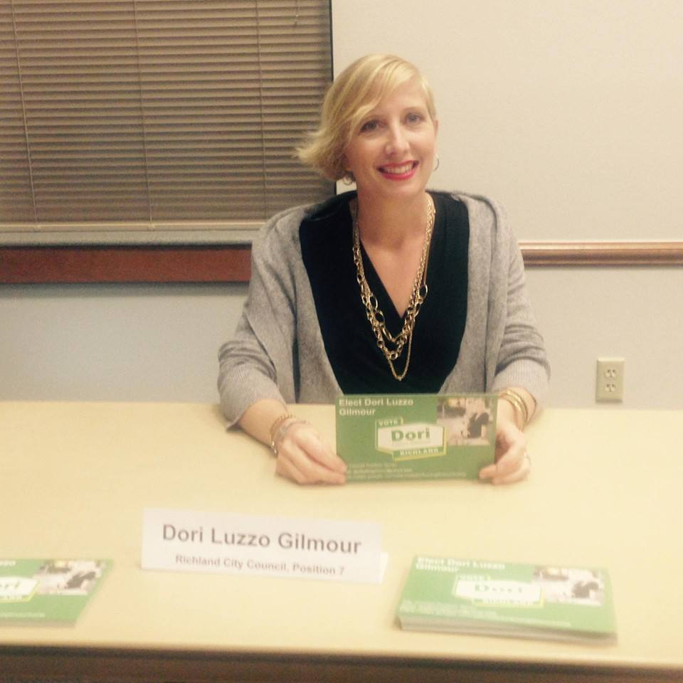 Dori Luzzo Gilmour, Richland City Council