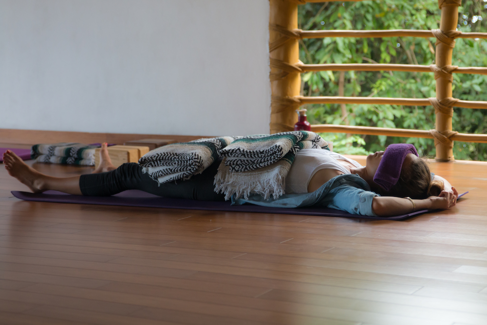 Restorative yoga for Panic Attacks