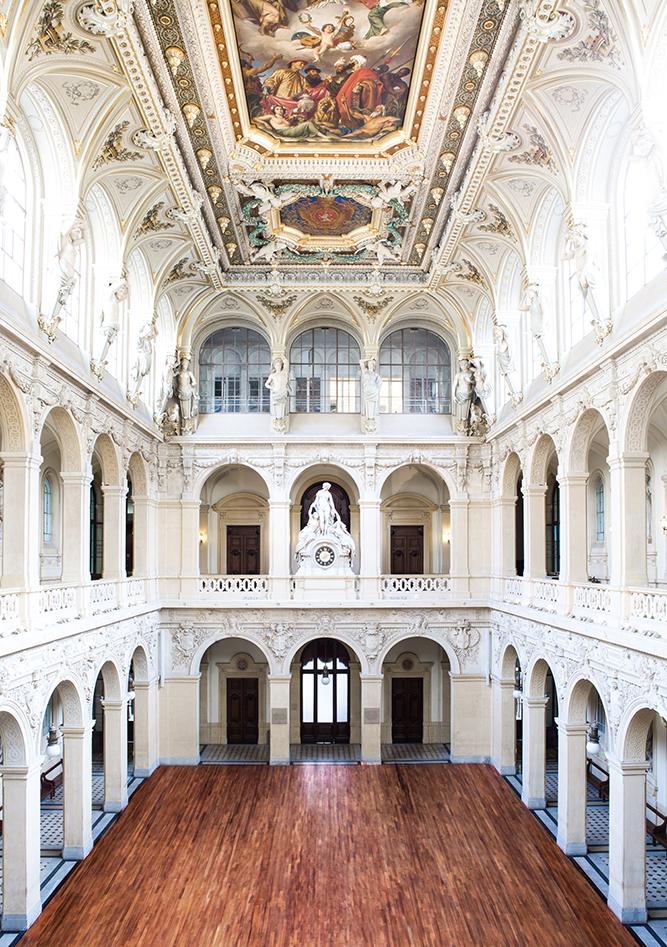 Palais de la bourse lyon salle corbeille - Architecture - Bénédicte Manière - Photographe Nuits Saint Georges - Bourgogne