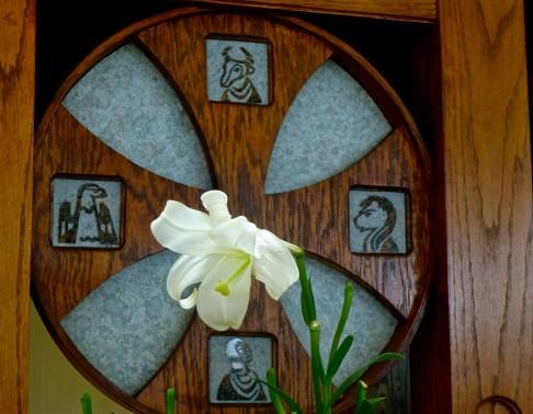 Ambo in Mother of God Monastery Chapel