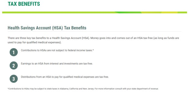 California HSA Information