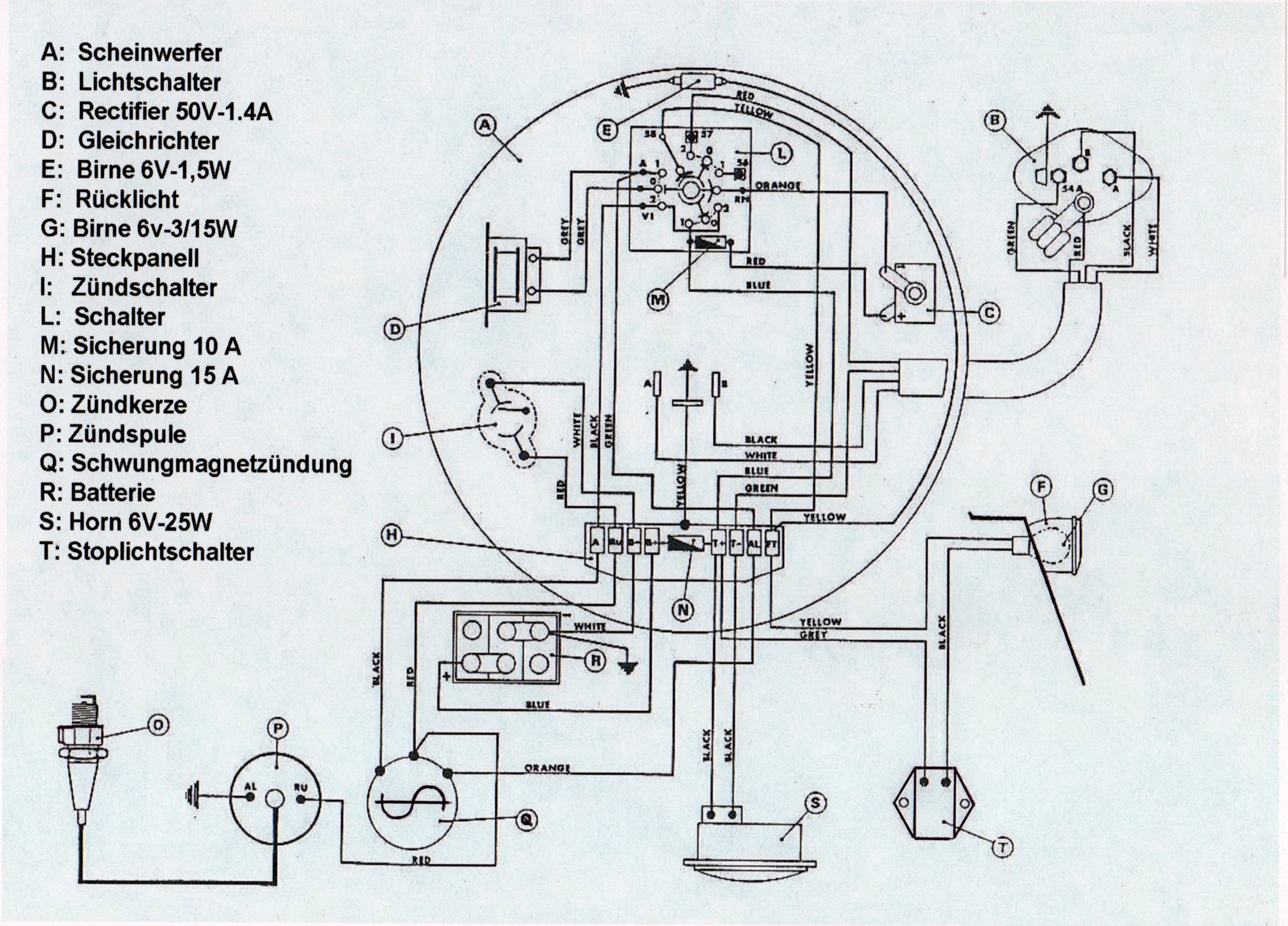 Benelli Motorcycle Wiring