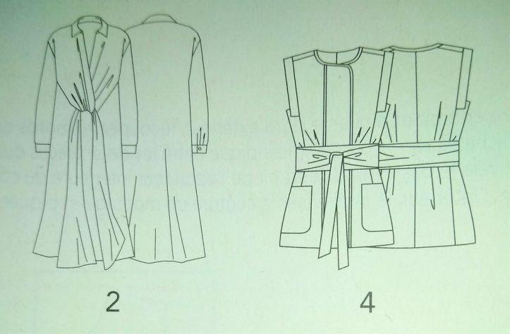 les modeles tuniques et chemisier couture actuelle special n°2