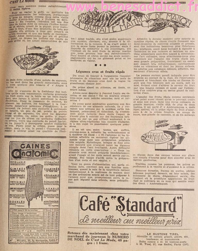 folie 30 s gratuit, patrons chapeaux sac tricot crochet pub anciennes recettes cuisine