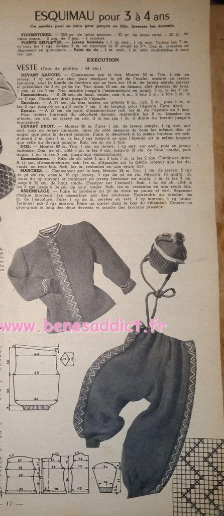 """""""Vintage Lovers"""" 40 SUPERBES Modèles Tricots Des Années 40!"""