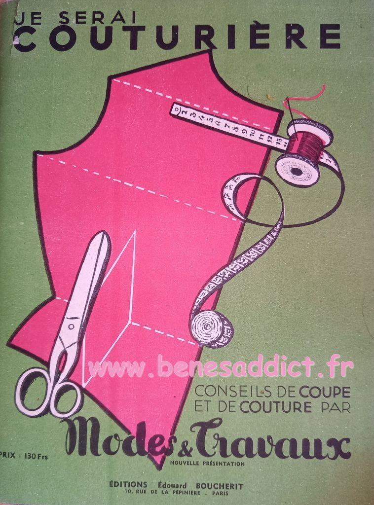 je serai couturiere 1952 conseils de coupe et de couture par modes et travaux