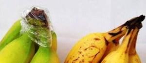 trucco salva banane annerite