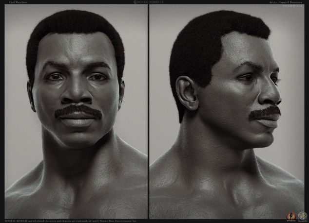 Mortal Kombat X- Carl Weathers