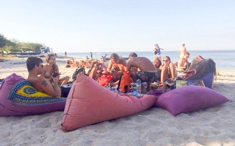 Gili T – Beachday