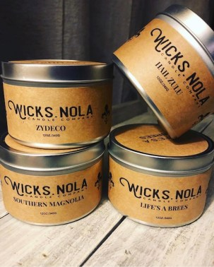 Wicks NOLA, New Orleans candle company