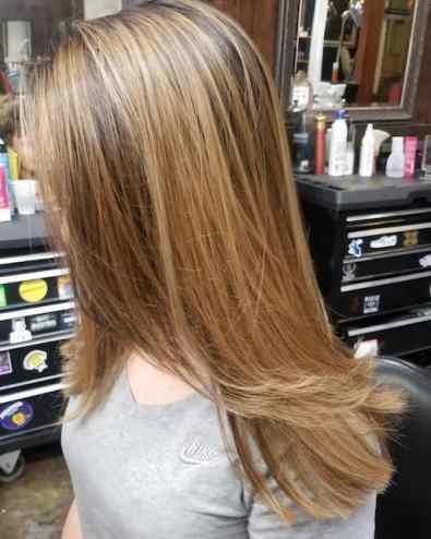 Kaitlyn Champagne, New Orleans hair stylist