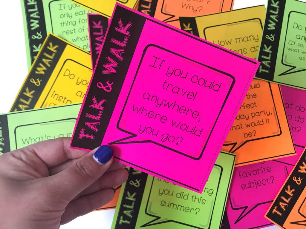 4 Awesome Back To School Icebreaker Activities