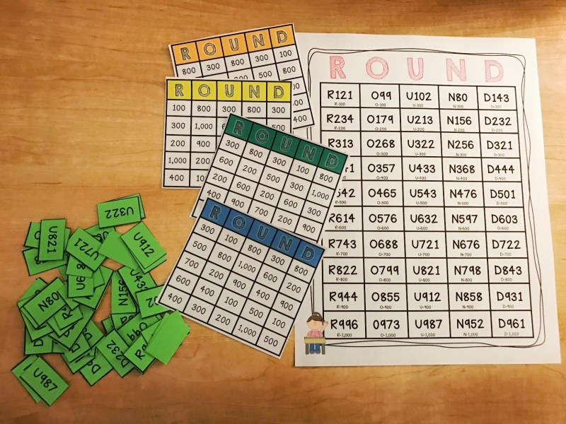 Teaching Rounding to Your Students with 3 Fun Games   Beneylu Pssst     comfortable identifying landmark numbers  and no longer needed the  number line to do so  they could participate this skill in other rounding  games
