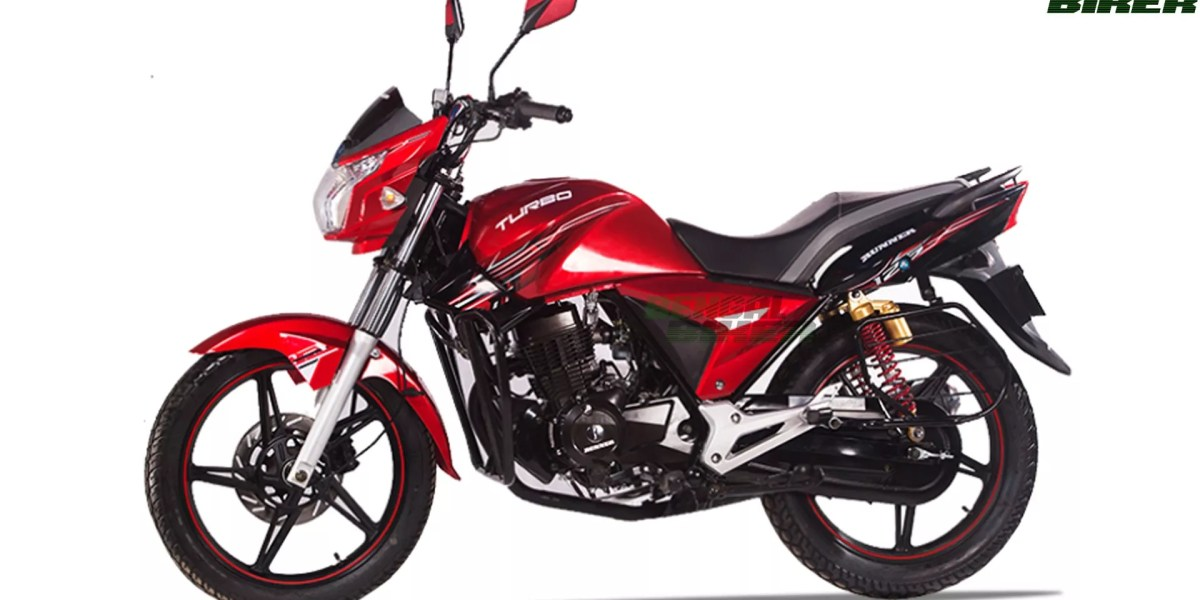 runner Turbo- 125 red color