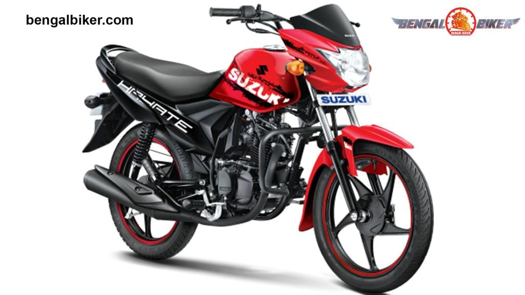 Suzuki Hayate Special Edition Red