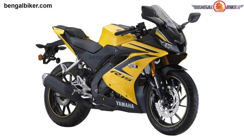 Yamaha R15 v3 Yellow