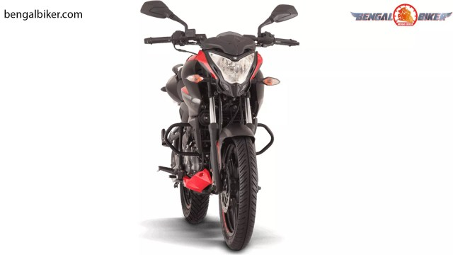 bajaj pulsar ns 160 fi abs  red font
