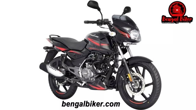 Bajaj Pulsar 150 SD black red 2020 price