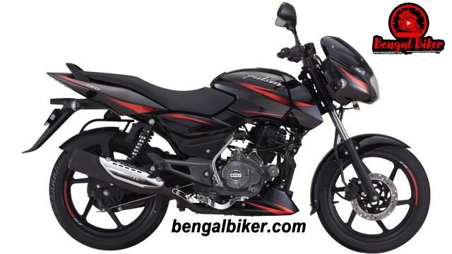 Bajaj Pulsar 150 SD black red 2020 price
