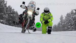 Winter Motorcycle Riding Tips