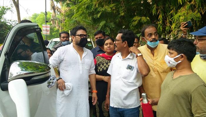 WB Assembly Election 2021: রবিবাসরীয় প্রচারে বাবুল সুপ্রিয়, মুখ্যমন্ত্রীর আরোগ্য কামনা টলিগঞ্জের বিজেপি প্রার্থীর
