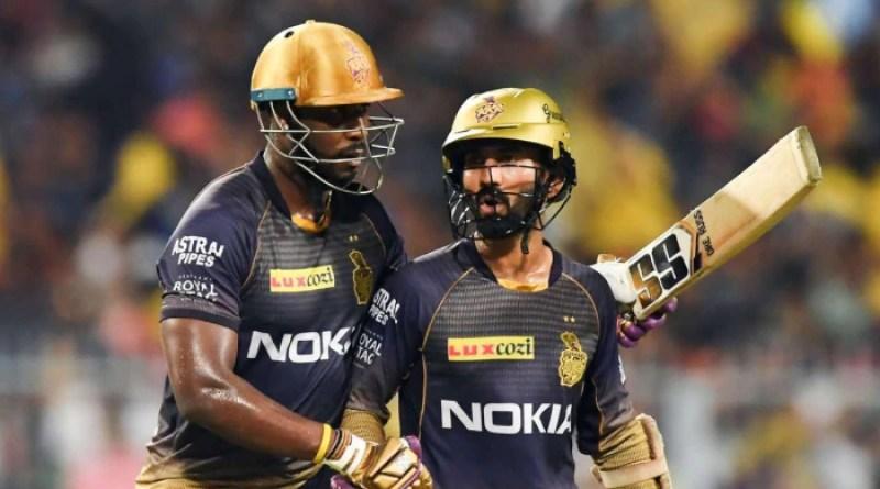 IPL 2021: অল্পের জন্য Russell-এর শট থেকে রক্ষা পেলেন Karthik! দেখুন ভিডিও