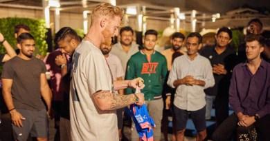 IPL 2021: জার্সিতে লেখা প্রয়াত বাবার নাম! আবেগ ধরে রাখতে পারলেন না Ben Stokes