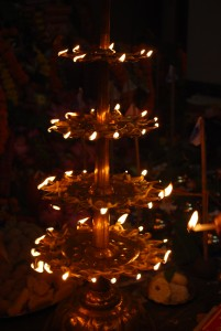 Durga Puja Diya