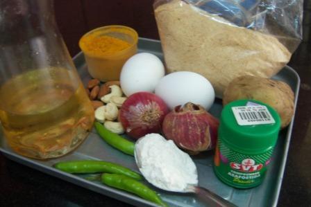 Ingredients of Deviled egg recipe