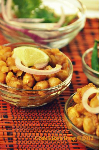 Bengali style kabuli chana recipe