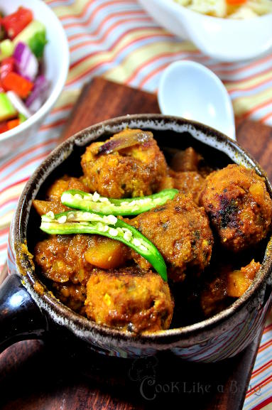 Authentic bengali recipe cook like a bong bengali style meatball forumfinder Image collections