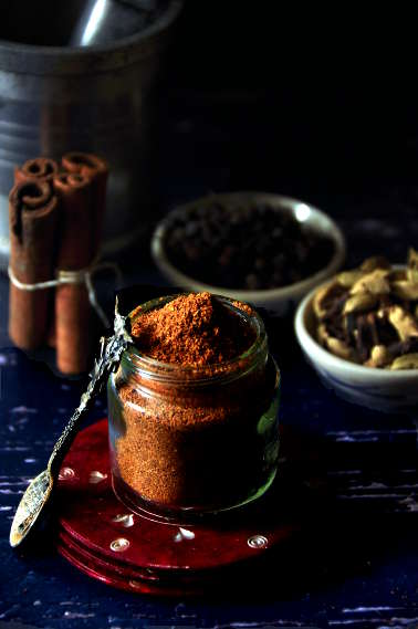 Ground spice for chole