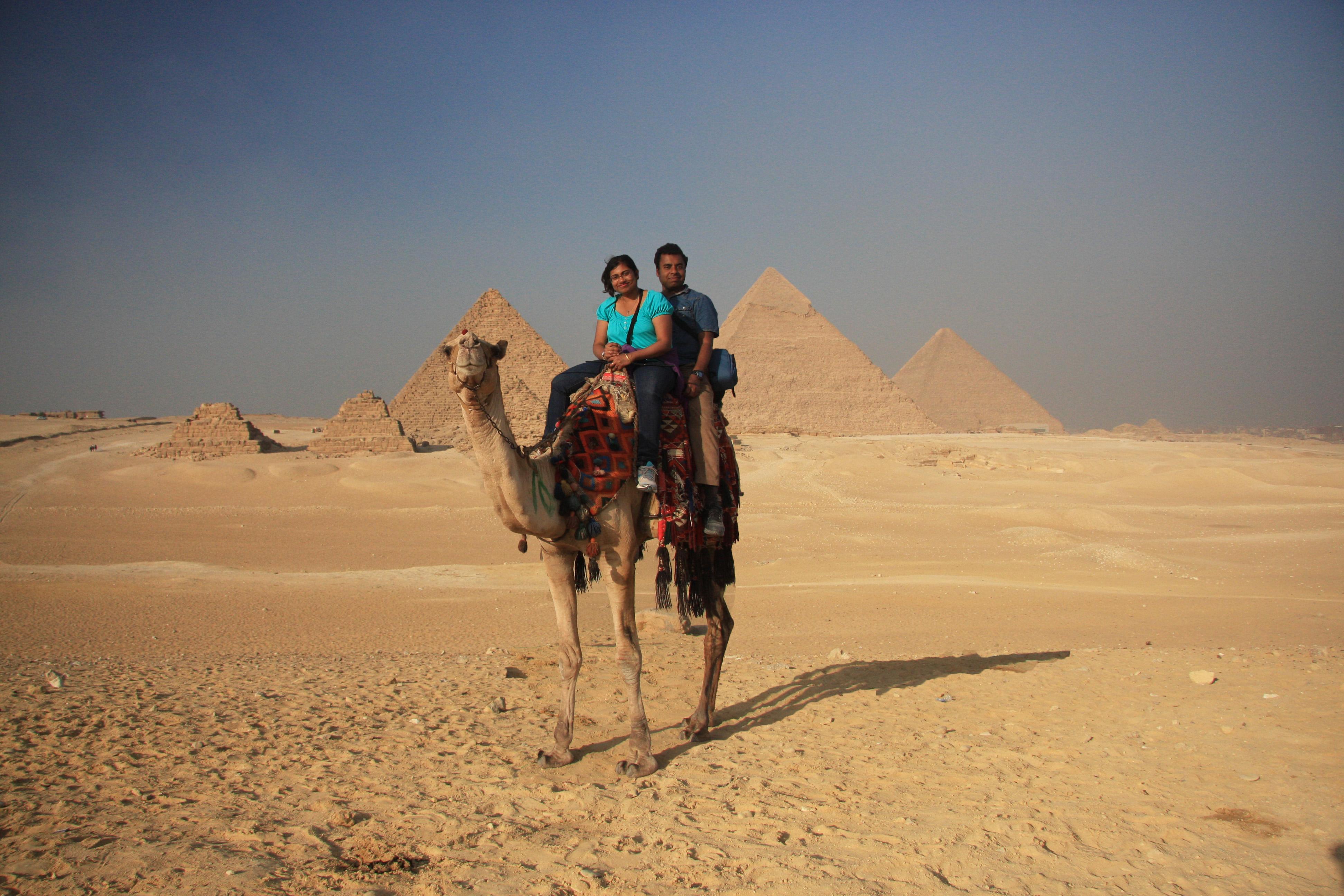 Egypt: Giza plateau
