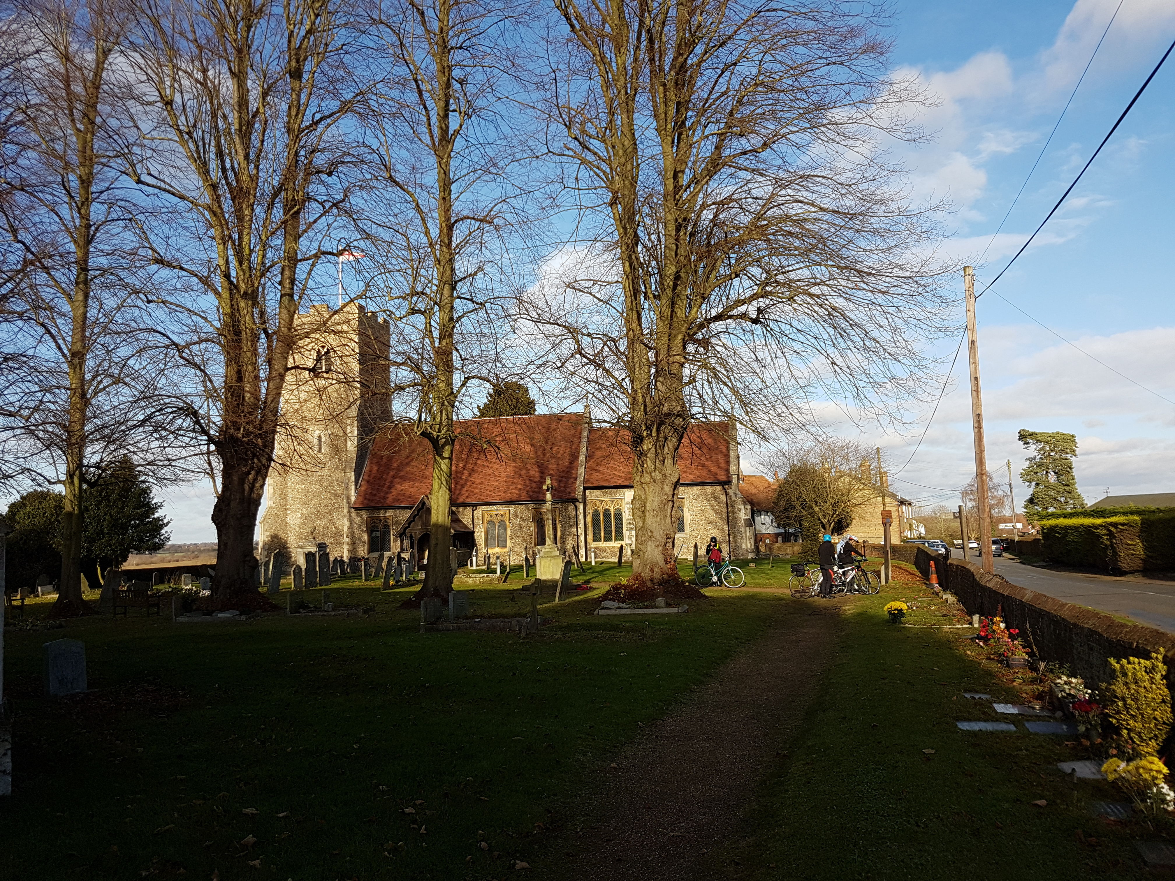Saturday Cycle ride in Essex villages