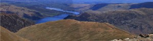 Helvellyn walk, The Classic Ridges of Striding and Swirral Edge