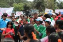Marching for a safer Bengaluru, Team-BNY celebrates 2014 International Women's Day