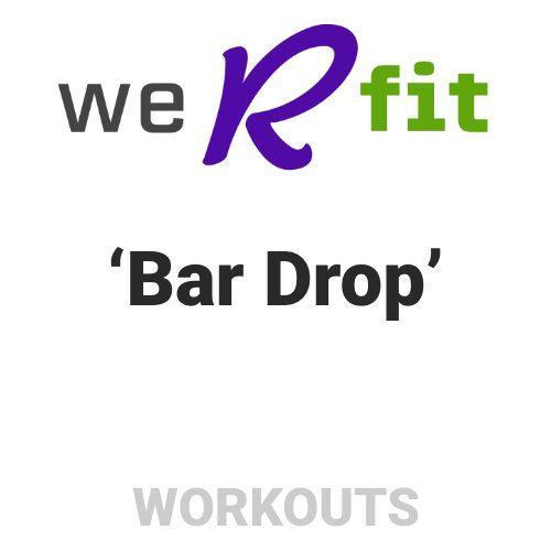 CrossFit Bar Drop Workout