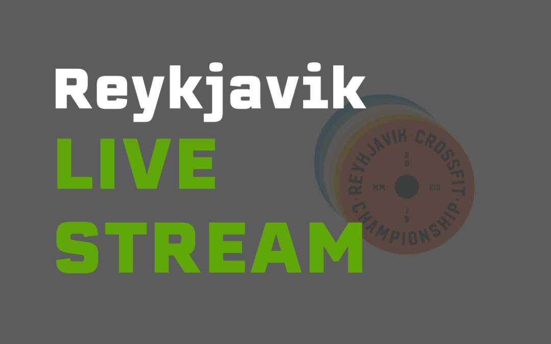 Watch the Reykjavik CrossFit Championship Live Stream
