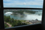 Veiw of the falls from the room