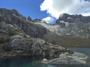 Lake Churup and the Cordilleras Blancas