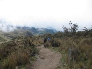 A less cloudy base of Iliniza