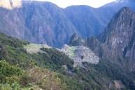Machu Picchu from afar - Day 4